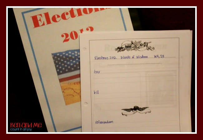 Elections 2012 Notebook 2
