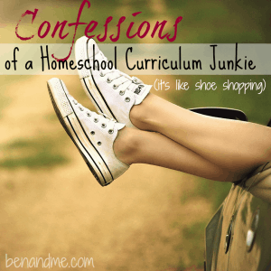 Confessions of a Homeschool Curriculum Junkie