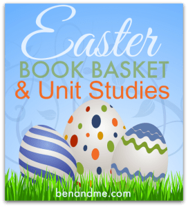 easter book basket