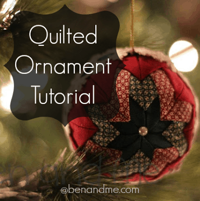how to make handmade quilted ornaments quilted ornaments tutorial ben and me 1135