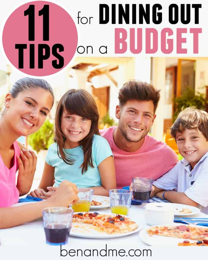 11 Tips for Dining Out on a Budget