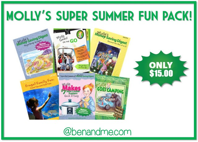 Frugal Family — Molly Green Summer Fun Pack!