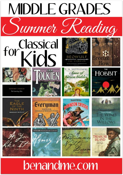 middle grades classical reading