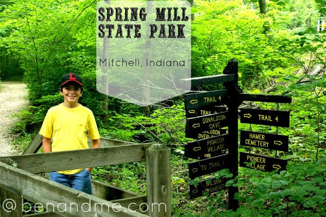 Q is for Quintessentially Pioneer (Spring Mill State Park)