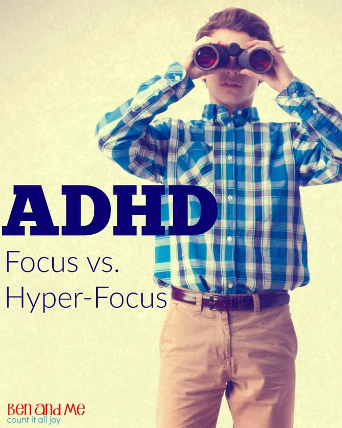 ADHD Focus vs. Hyper-focus -- Hyper-focus is the ability to focus so intently on something that hours pass by into oblivion.