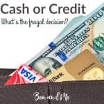 Cash or Credit: What's the Frugal Decision?