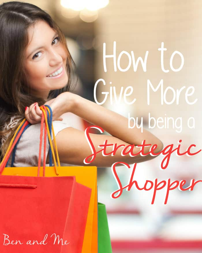 How to Give More by being a Strategic Shopper