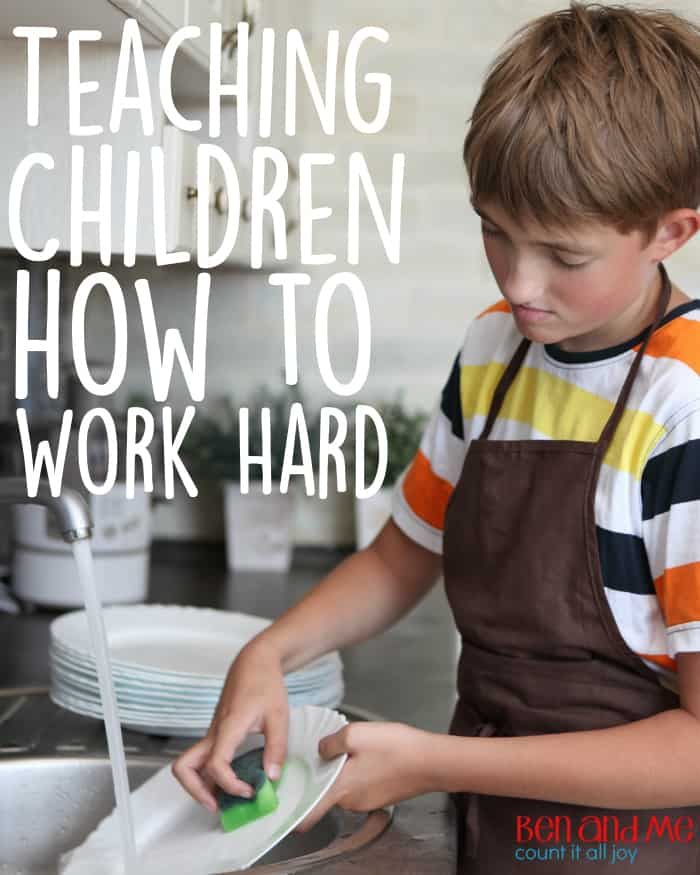 Teaching Children How to Work Hard