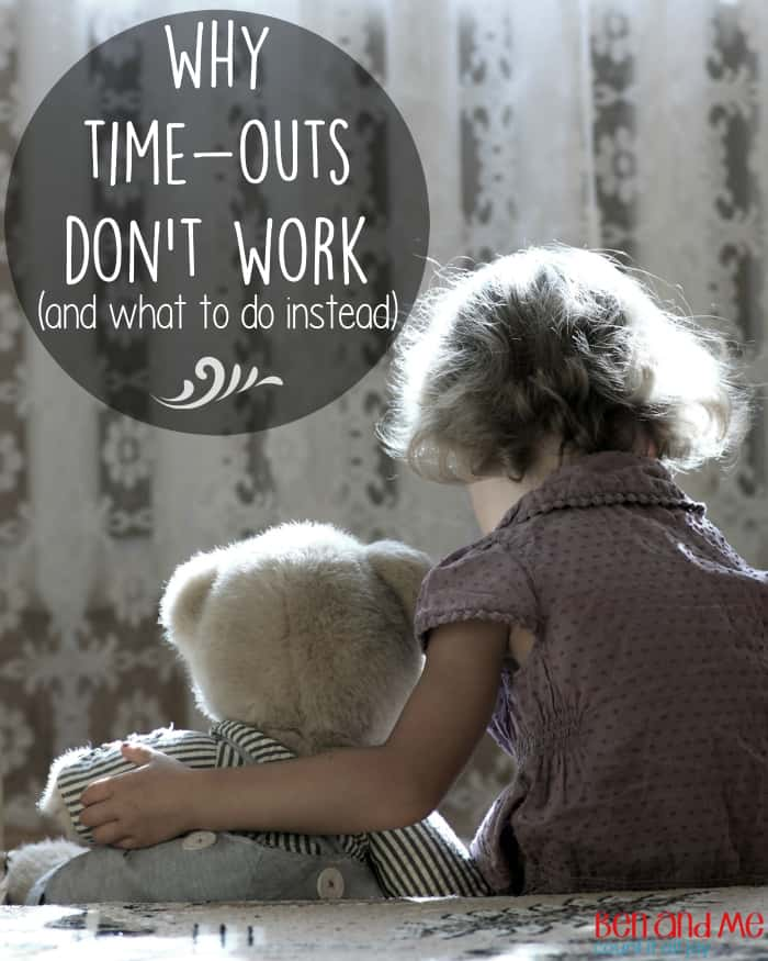 Why Time-Outs Don't Work and What to do Instead -- It's all well and good for a child to take a few minutes to calm down, and it's great if they can tell you why they had to sit in time-out. But if you stop there, then you're missing the most important part — the heart change.