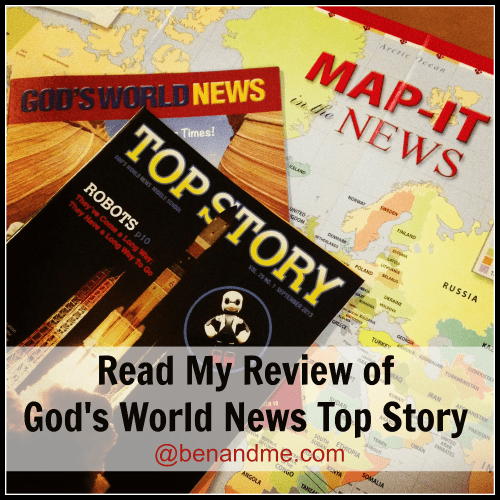God's World News (a Schoolhouse Crew Review)
