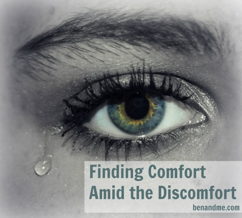 Finding Comfort Amid the Discomfort
