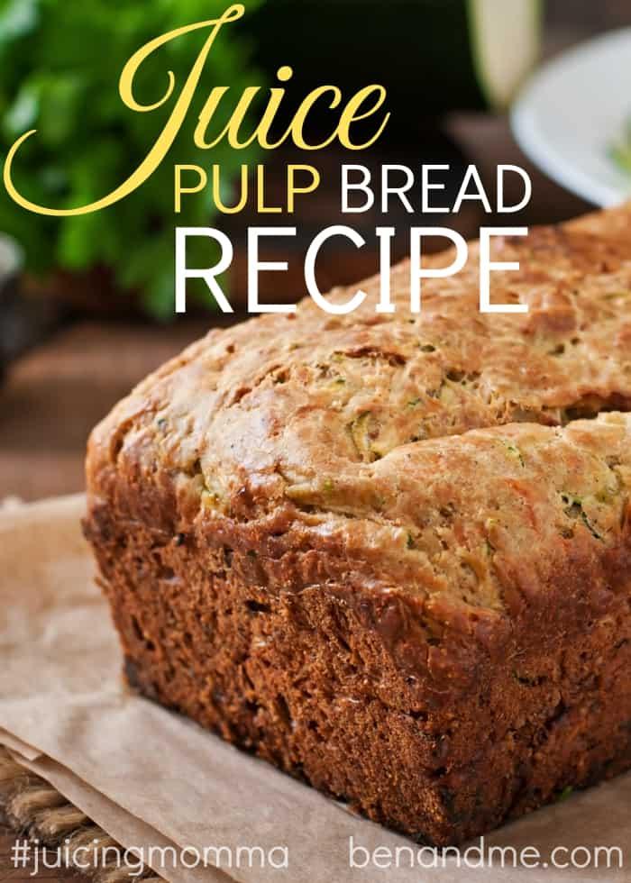 Juice Pulp Bread Recipe