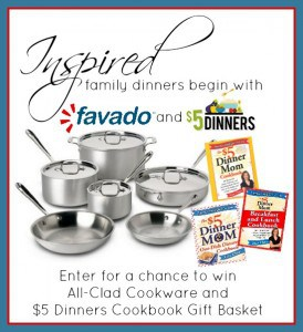 inspired family dinners favado giveaway