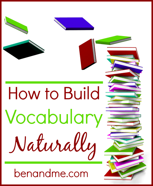 v is for vocabulary how to build vocabulary naturally ben and me. Black Bedroom Furniture Sets. Home Design Ideas