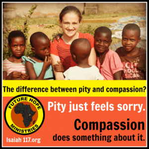pity and compassion