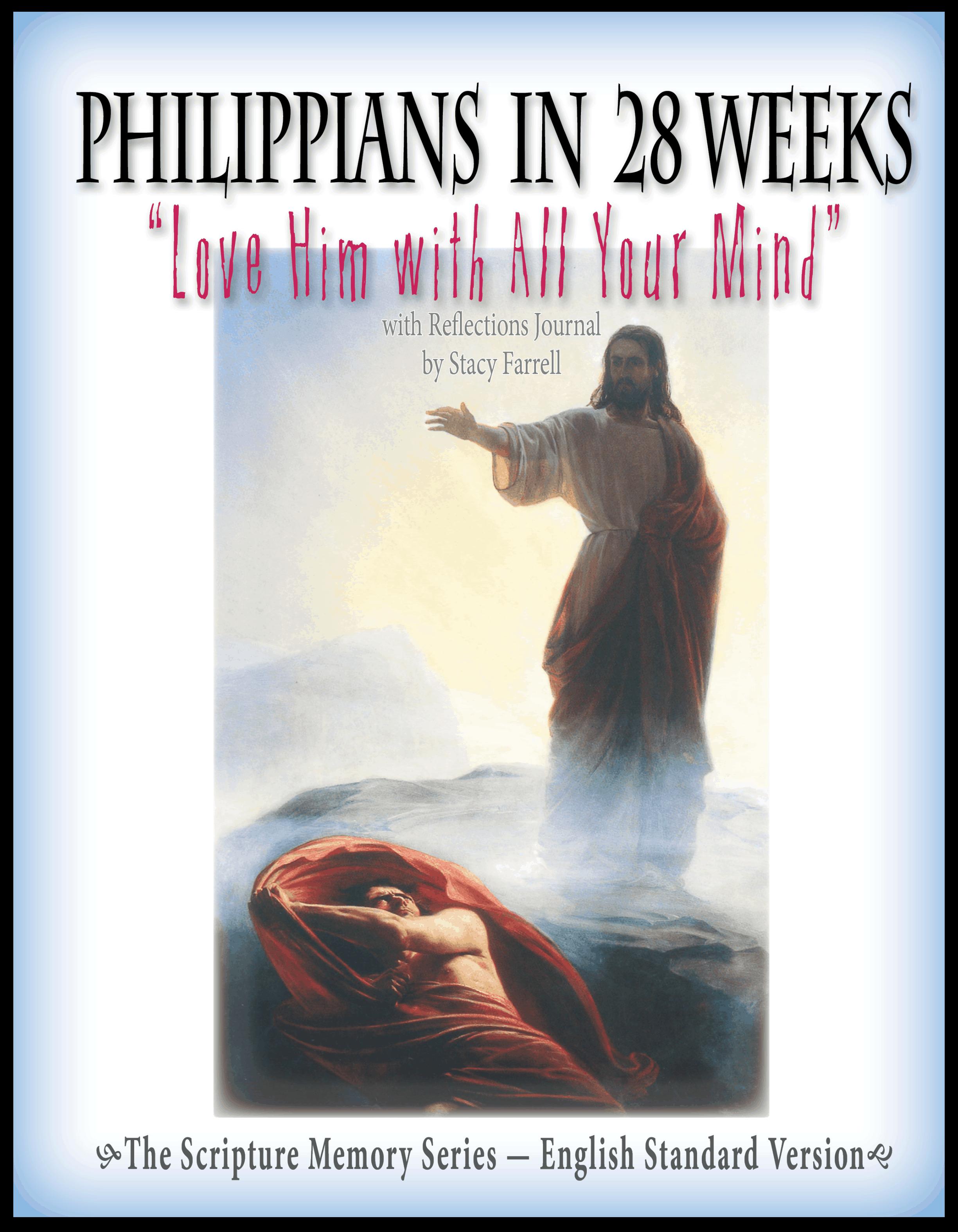 Philippians in 28 Weeks ESV Bible Memory Tool
