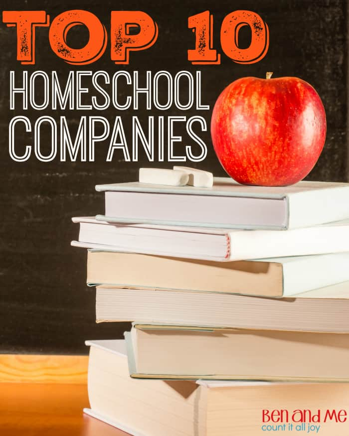 Top 10 Homeschool Companies
