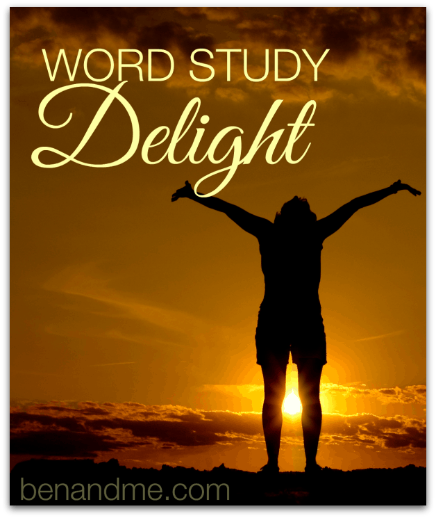 delight word study