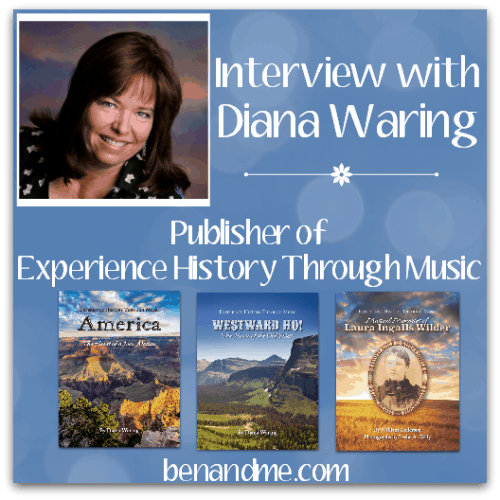 Just Released! Experience History Through Music {and an Interview with Diana Waring}