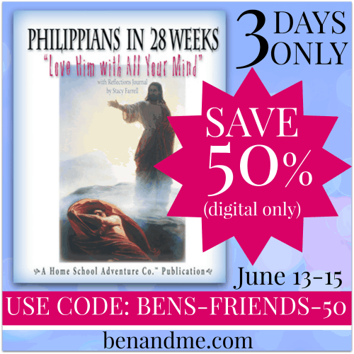 Save 50% on Digital Philippians in 28 Weeks (ESV Bible Memory Tool) — 3 Days Only!