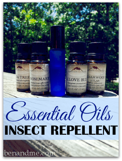 essential oils insect repellent