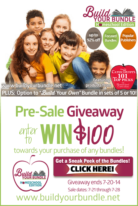 Enter to Win $100 to Spend on Homeschool Curriculum!