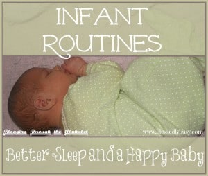 infant routines