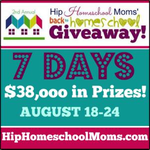 Hip Homeschool Moms Back to Homeschool Giveaway 2014