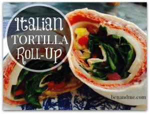 Italian Tortilla Roll-Up