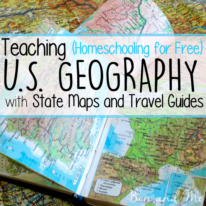 Teaching U. S. Geography with State Maps and Travel Guides