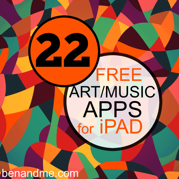 art and music apps for ipad