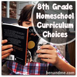 curriculum choices grade 8