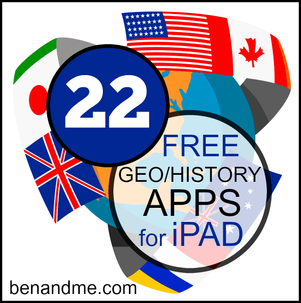 history geography apps for ipad