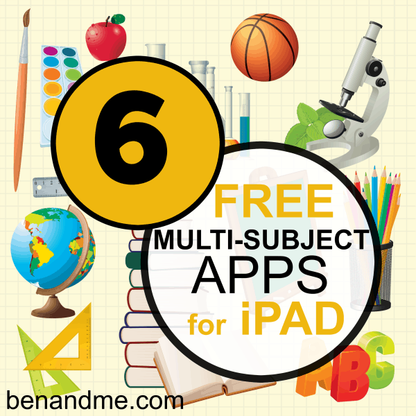 multi-subject apps for ipad