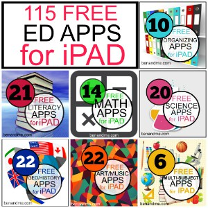 115 Free Educational iPad Apps