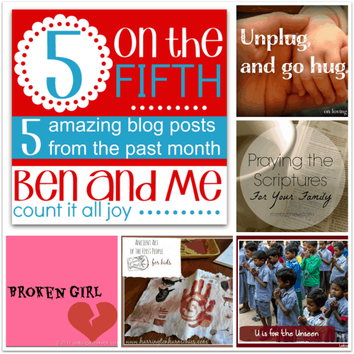 5 on the Fifth — Favorite Blog Posts October 2014