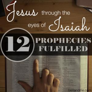 Jesus through the eyes of Isaiah -- 12 Prophecies Fulfilled