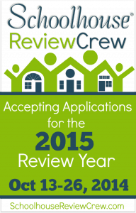 Schoolhouse Review Crew accepting applications for the 2015 Review Year
