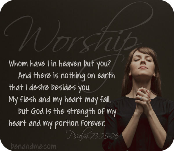 Worship {a collection of worshipful Scripture}