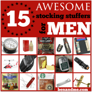 15 Awesome Stocking Stuffers for Men