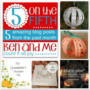 5 of the Fifth Favorite Blog Posts for November 2014