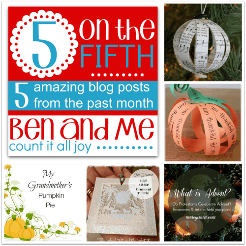 5 on the Fifth — Favorite Blog Posts November 2014