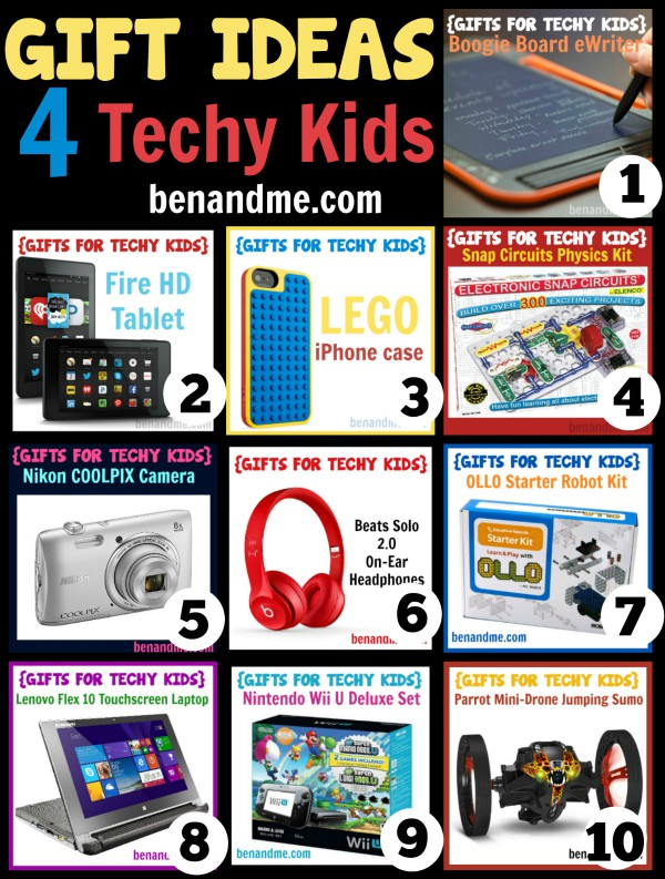 Top 10 Gift Ideas for Techy Kids