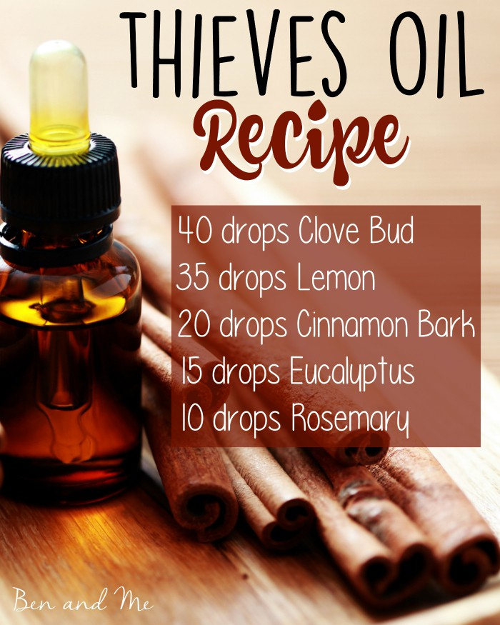 Thieves Oil Recipe Blend