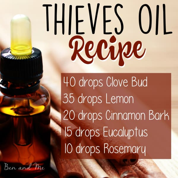Natural Help for Cold and Flu Season (thieves oil recipe)