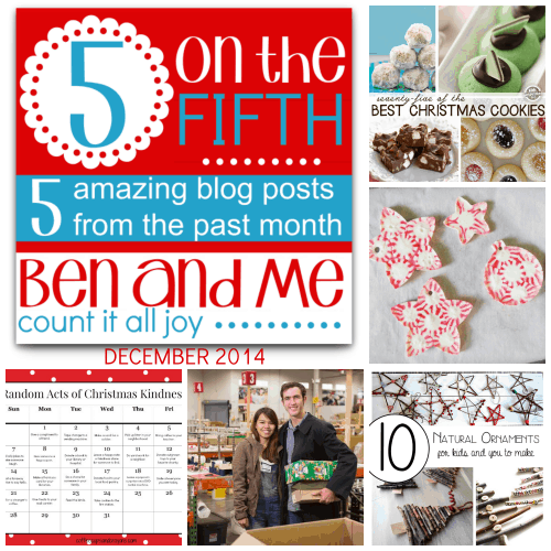 5 on the Fifth — Favorite Blog Posts December 2014