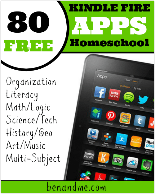 80 FREE Educational Apps for Kindle Fire - Ben and Me