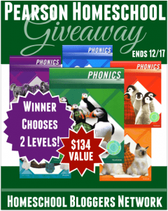 Pearson Homeschool Plaid Phonics Giveaway