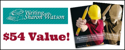 Writing with Sharon Watson Giveaway