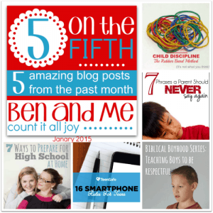 5 on the Fifth January 2015